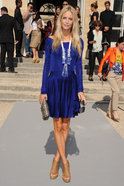Christian Dior: Front Row - Paris Fashion Week Spring / Summer 2012