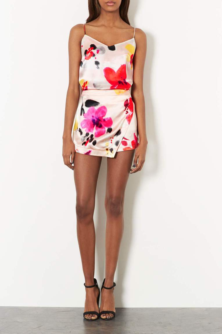 Topshop floral co-ord