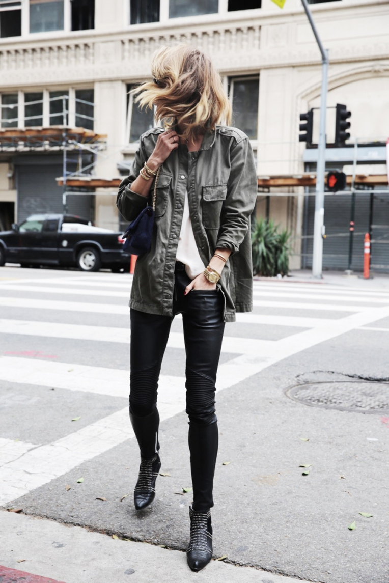 anine-bing-outfit-leather-pants-army-jacket-charlie-boots-3