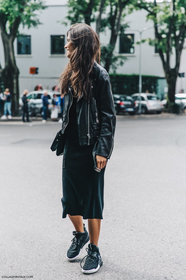 MFW-Milan_Fashion_Week-Spring_Summer_2016-Street_Style-Say_Cheese-Chiara_Totire-Biker_Jacket-Sneakers--790x1185